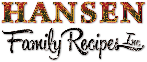 Hansen Family Recipes Retina Logo